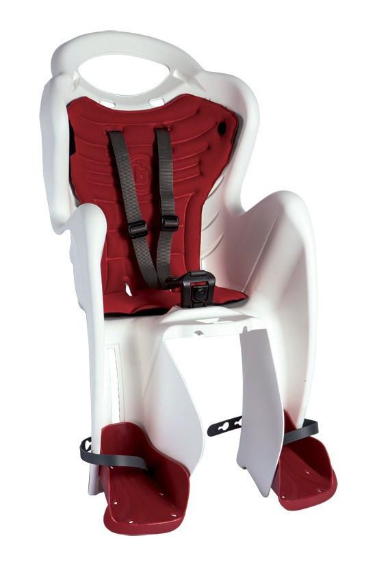 Bellelli Mr Fox Standard B-Fix scaun bicicleta pentru copii pana la 22kg - White imagine