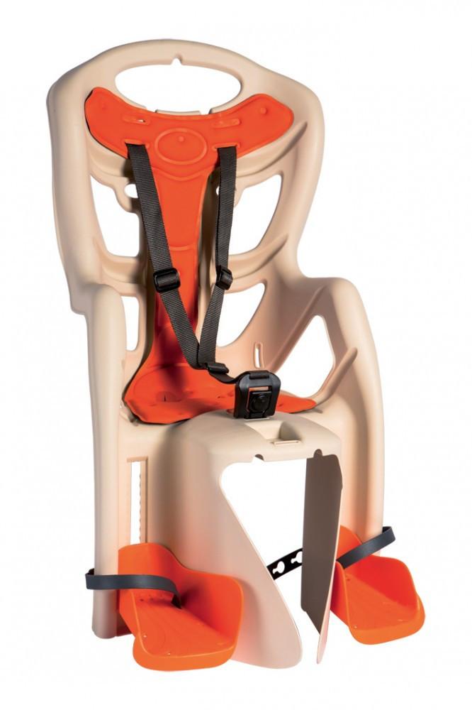 Bellelli Pepe Standard Multifix scaun bicicleta pentru copii pana la 22kg - Beige imagine