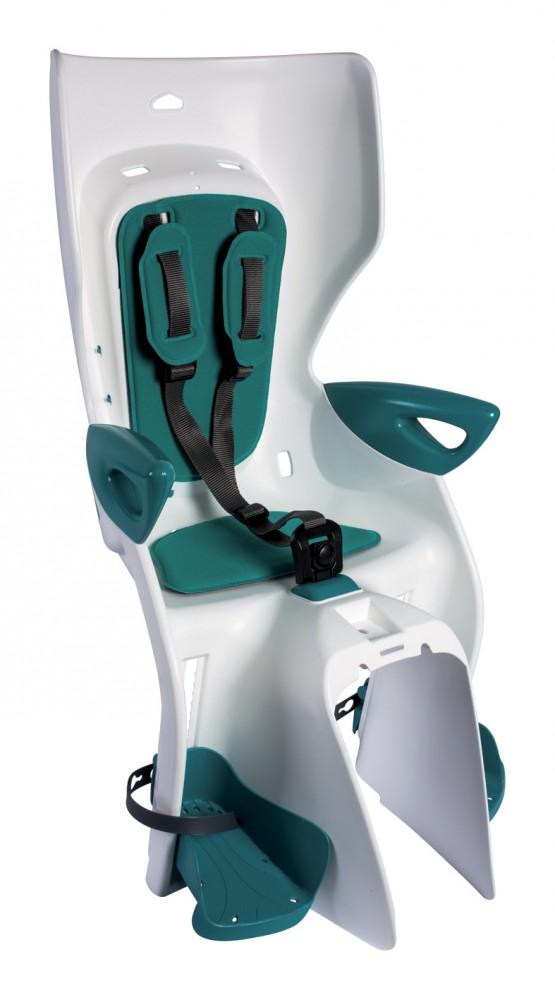 Bellelli Summer Relax B-Fix scaun bicicleta pentru copii pana la 22kg - White Turquoise imagine