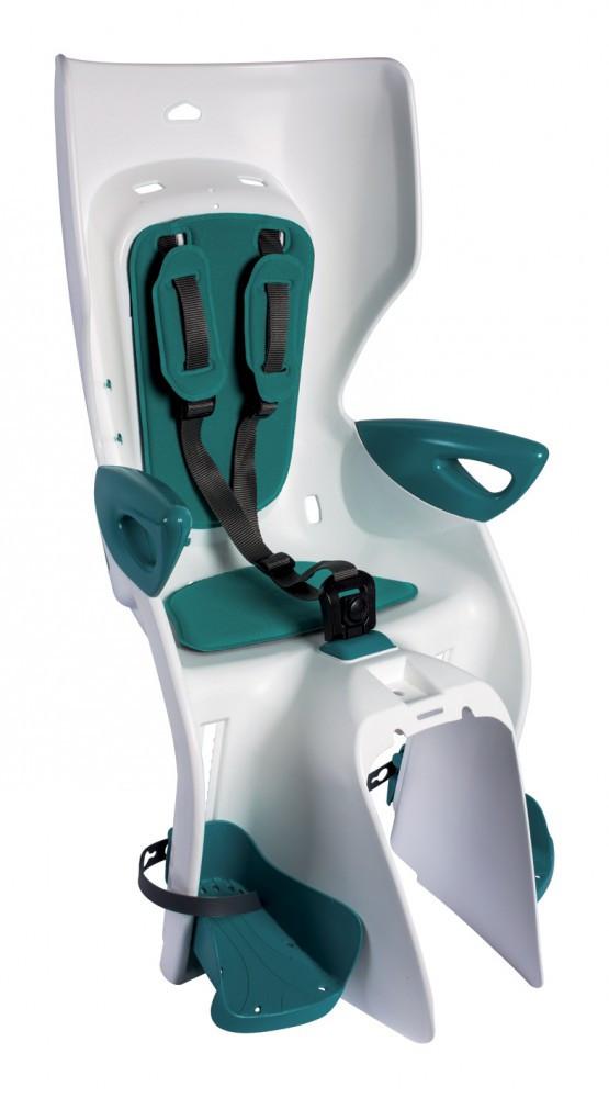 Bellelli Summer Standard B-Fix scaun bicicleta pentru copii pana la 22kg - White Turquoise imagine