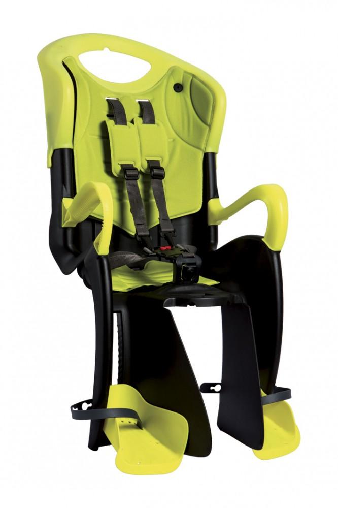Bellelli Tiger Standard B-Fix scaun bicicleta pentru copii pana la 22kg - Yellow Hi-Viz imagine