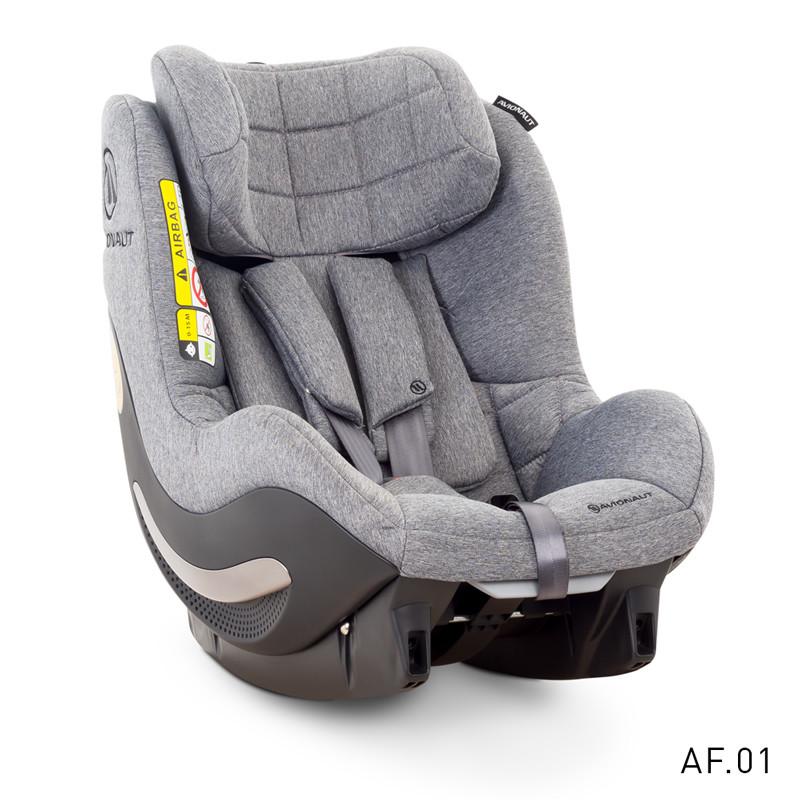 Avionaut AeroFIX SOFT LINE scaun auto 0-18kg iSize - AF.01 Gray-Melange imagine