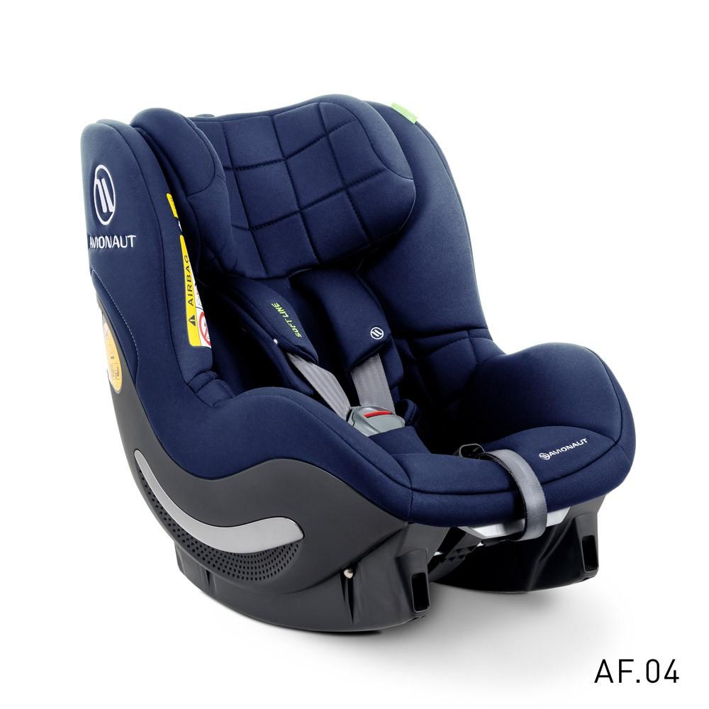 Avionaut AeroFIX SOFT LINE scaun auto 0-18kg iSize - AF.04 Navy imagine