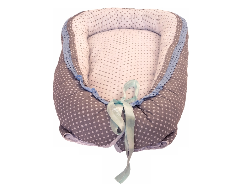 Baby Nest MyKids Gray-Blue Ice
