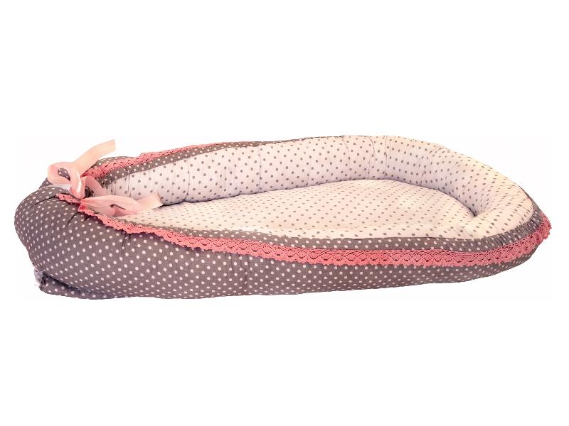 Baby Nest MyKids Gray-Pink Vintage imagine