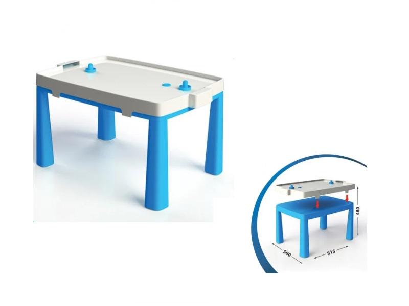 Set masa copii+scaun taburet MyKids 04580/1 Albastru imagine