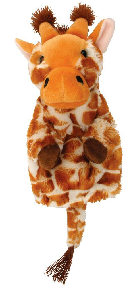 Papusa de mana - Girafa