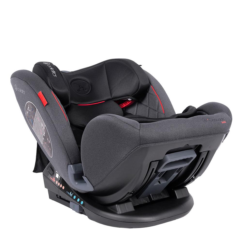 Scaun auto Rear Facing cu Isofix Cascade black 0-36 kg imagine