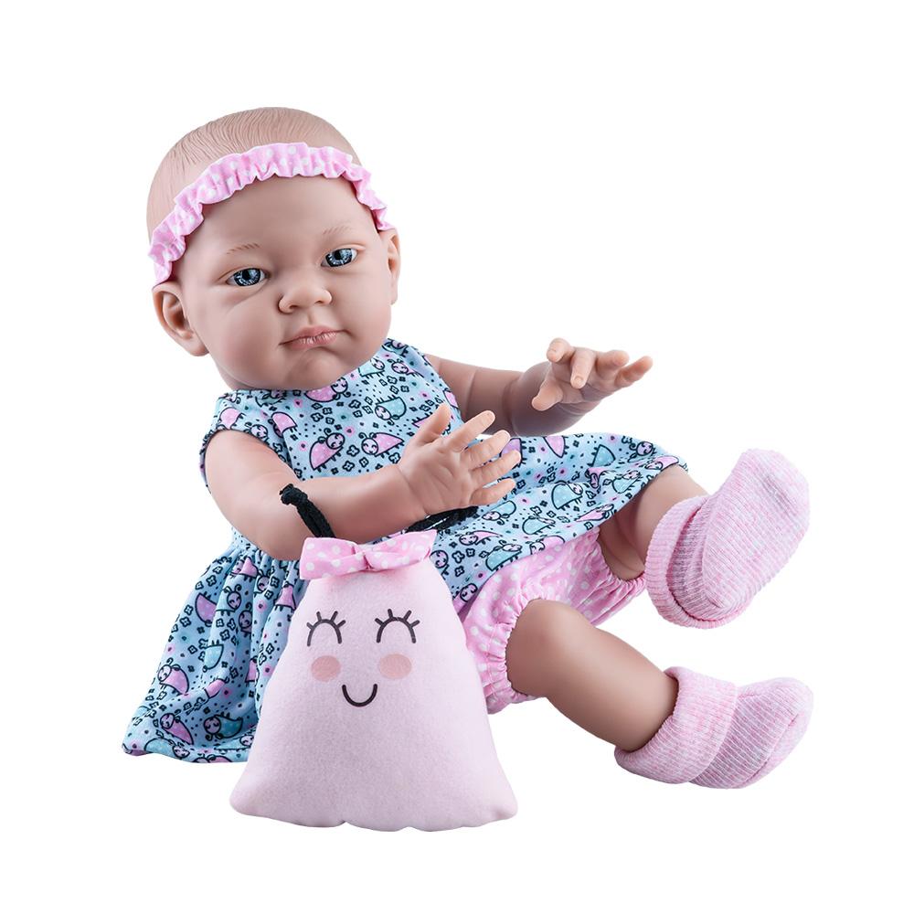 Bebelus fetita in rochita cu buburuze roz si bleu - Pikolin, Paola Reina
