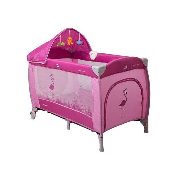 Patut pliabil coto baby samba lux pink imagine