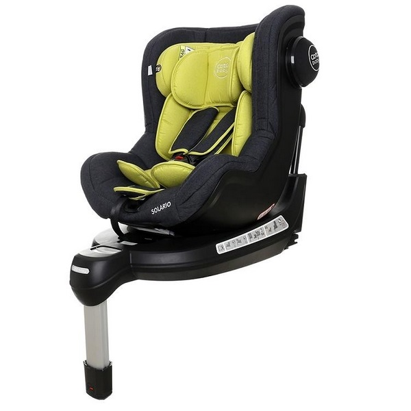 Scaun auto coto baby solario melange olive 360 grade isofix 0-18 kg imagine