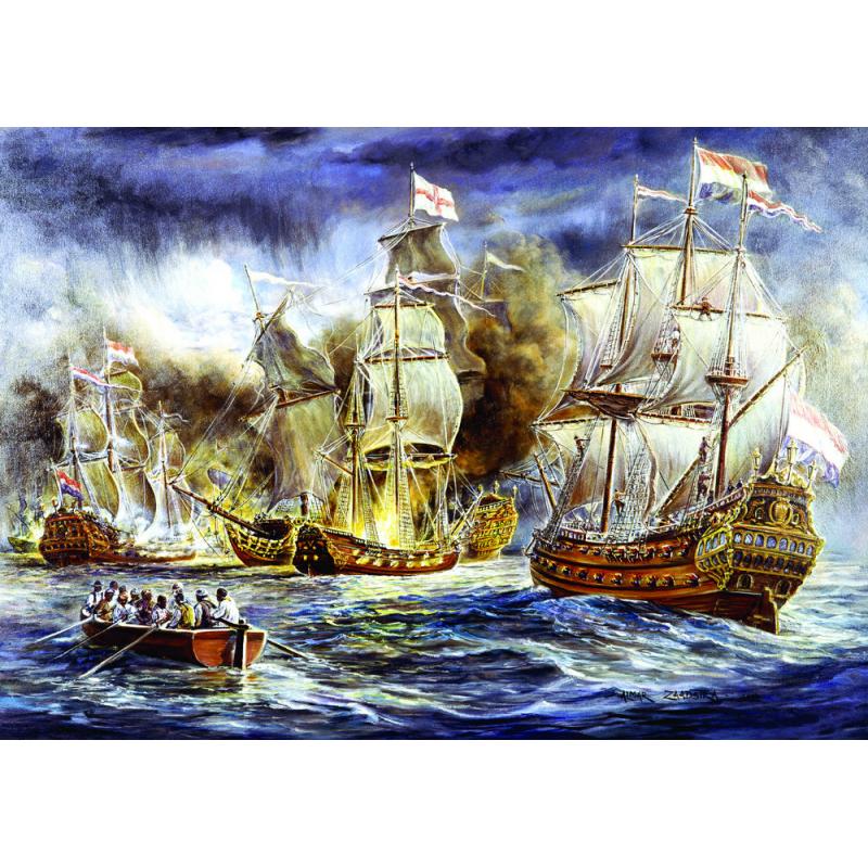 Puzzle 1500 piese - Battleship War