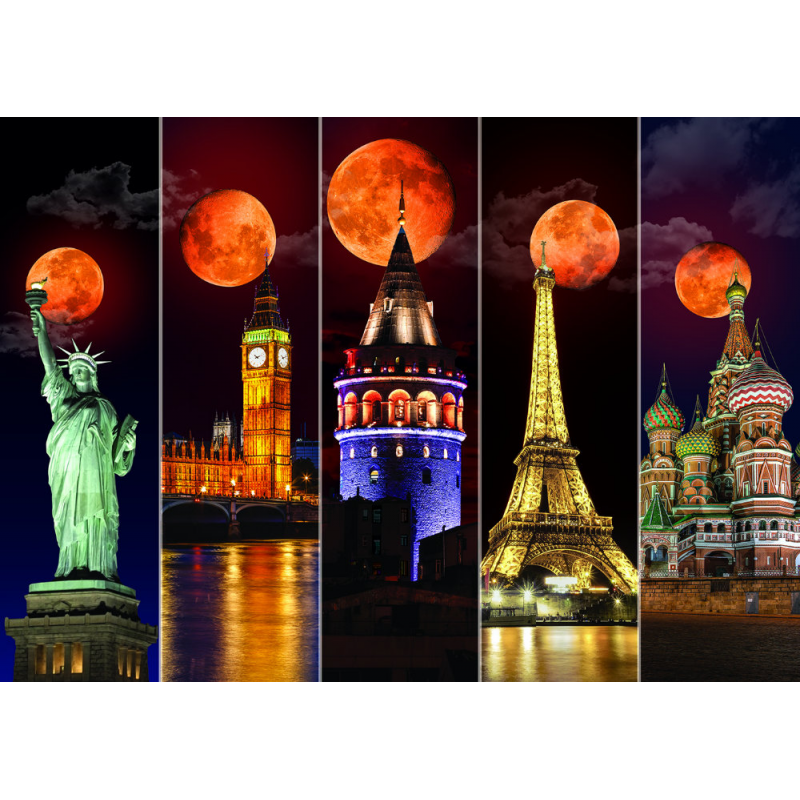 Puzzle 1500 piese - Blood Moon