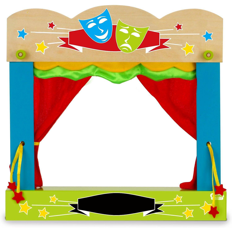 Teatru de papusi pentru marionete de deget Fiesta Crafts FCT-2749