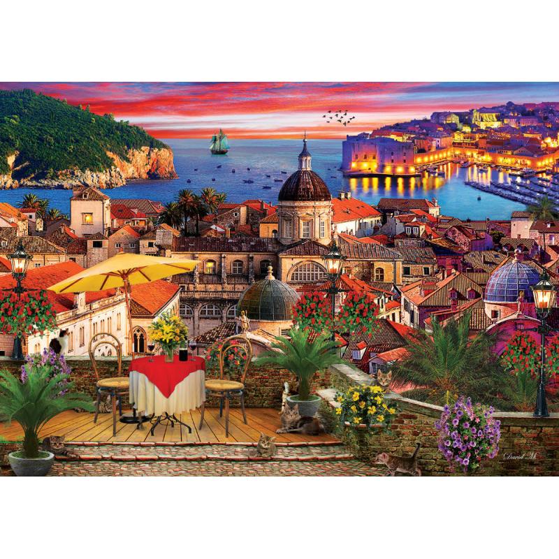 Puzzle 1000 piese - Dubrovnik imagine