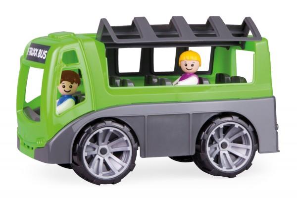 Autobuz Lena Truxx pentru copii cu doua figurine incluse