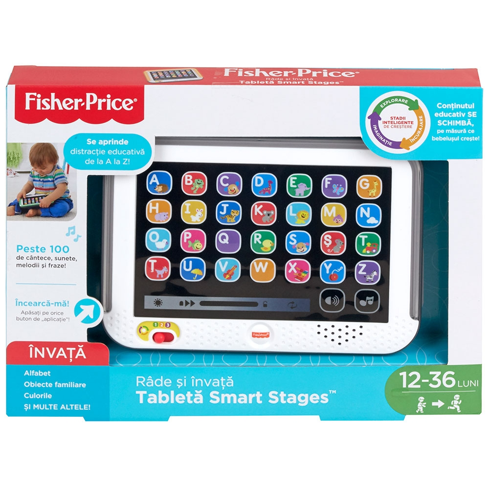 Jucarie Fisher Price by Mattel Laugh and Learn Tableta in limba romana
