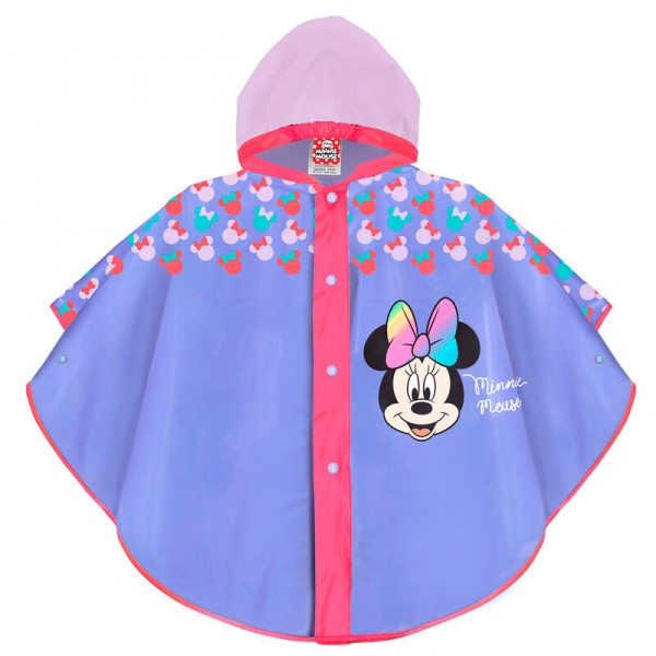 Pelerina de ploaie Minnie pentru copii Perletti
