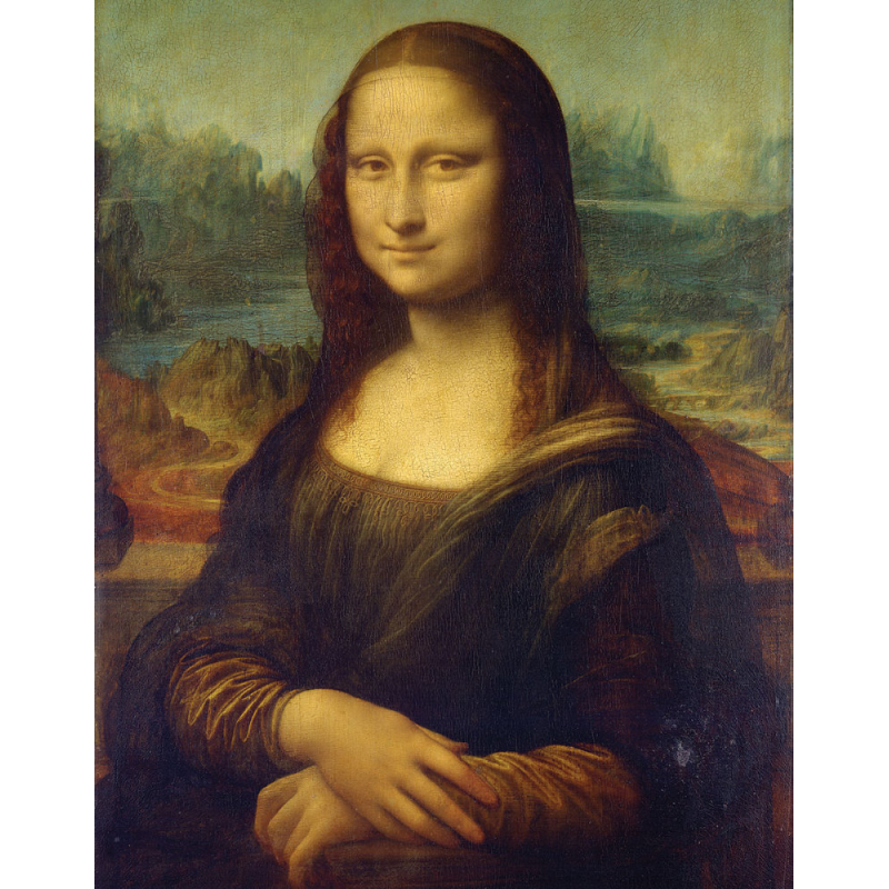 Set pictura pe panza Leonardo da Vinci - Mona Lisa imagine