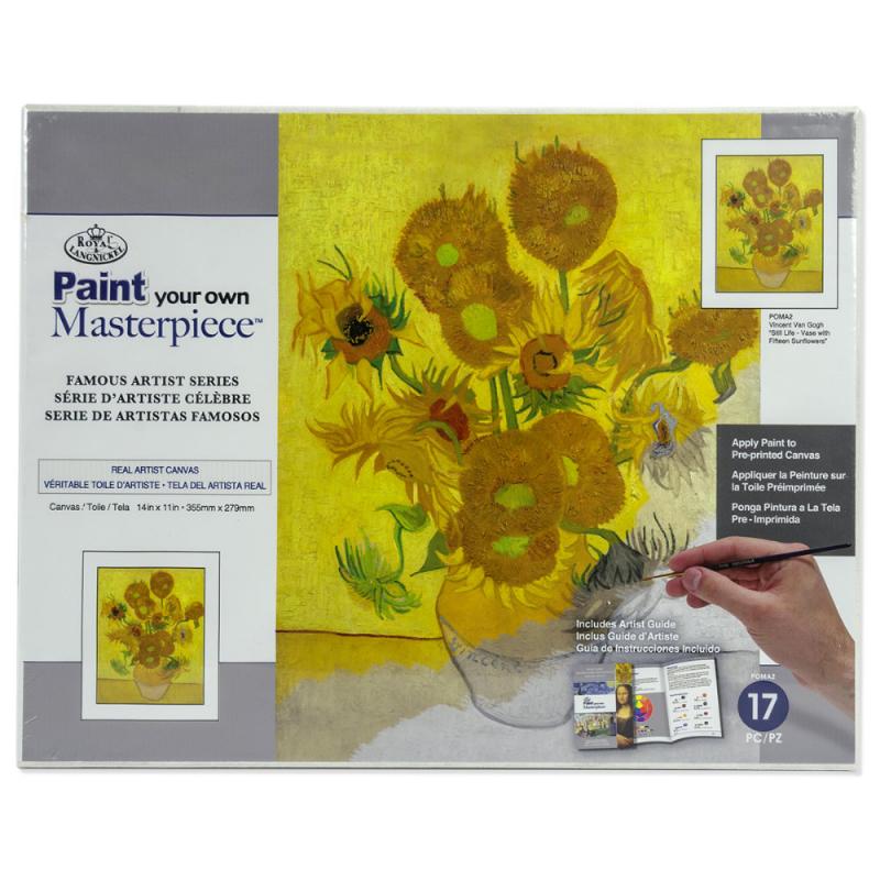 Set pictura pe panza Vincent van Gogh - Sunflower imagine