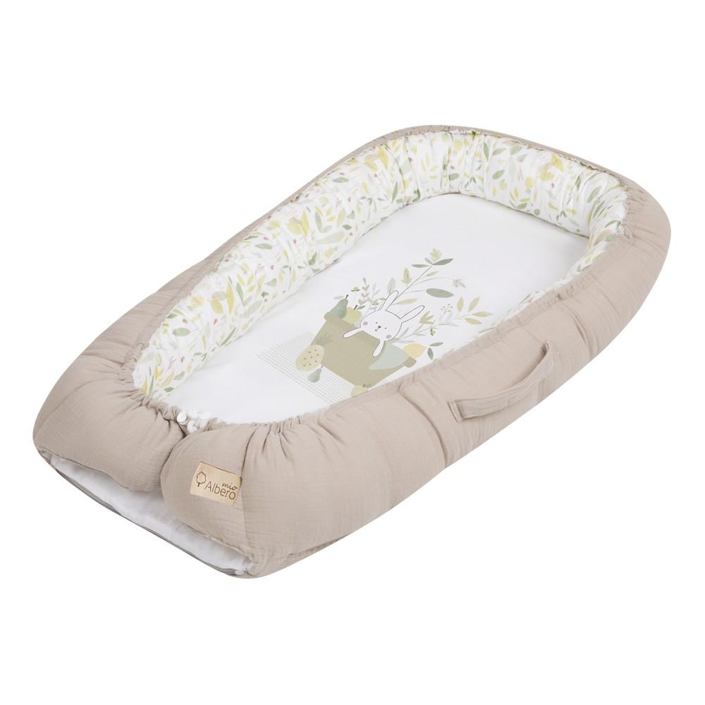 Albero Mio Eco & Love salteluta-cuib pentru bebelusi - E002 Picnic imagine