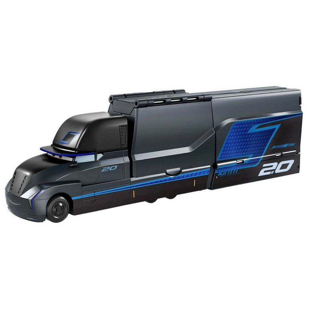 Camion Disney Cars by Mattel Gale Baufort Launching Hauler