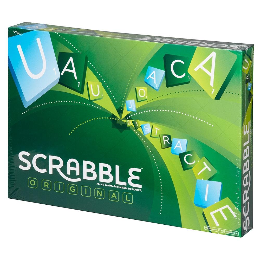 Joc Mattel Games Scrabble original in limba romana