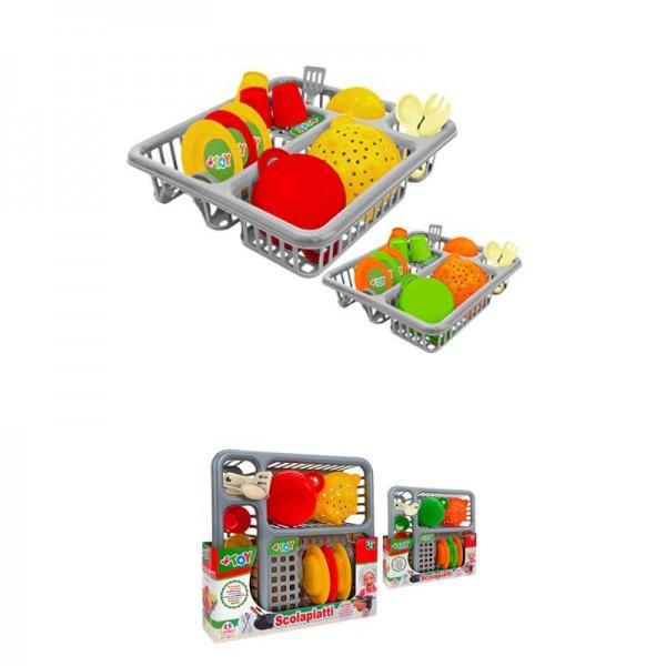 Uscator vase Globo cu accesorii din plastic 14 piese