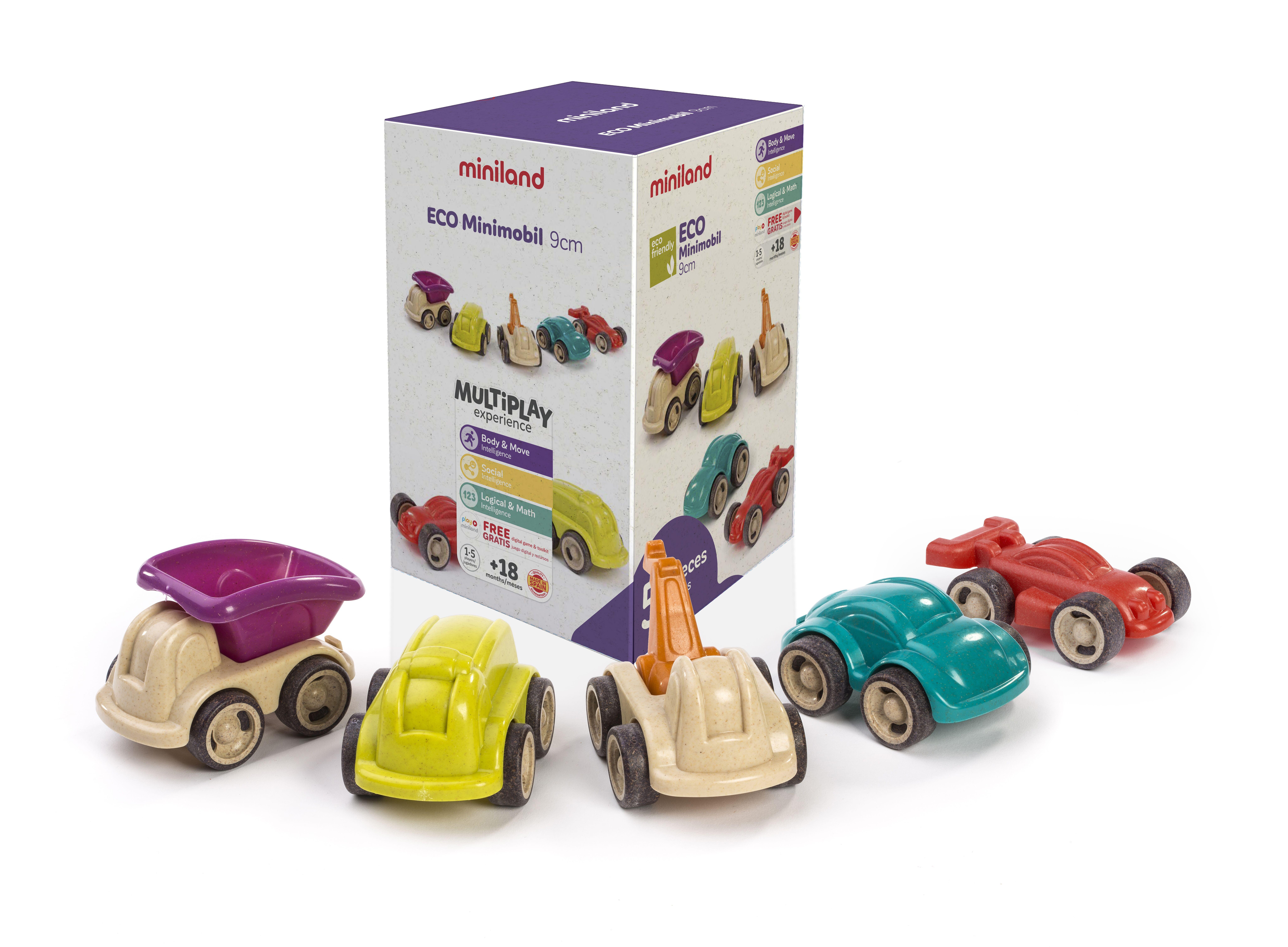 Set 5 vehicule 12 cm Minimobile ECO