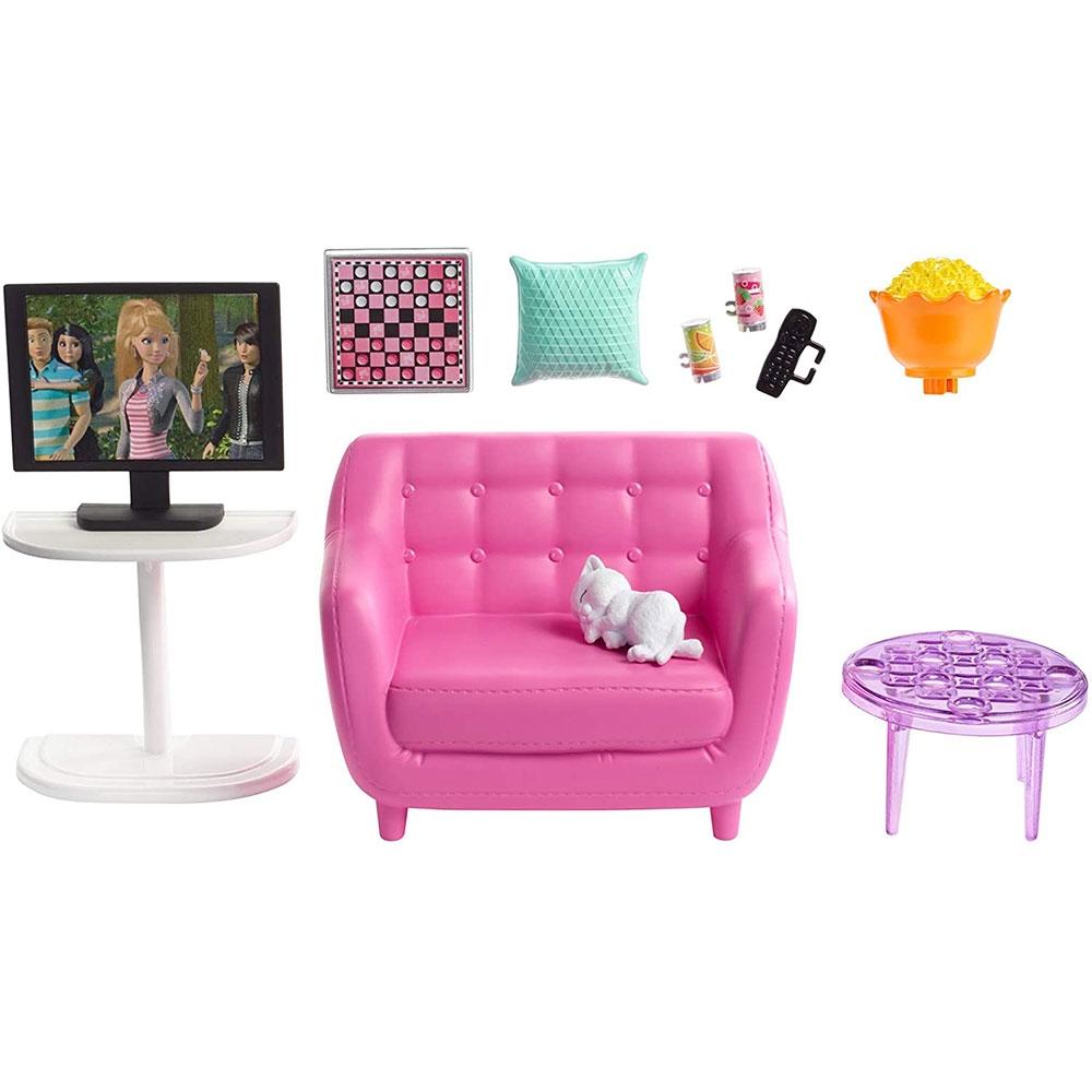 Set Barbie by Mattel Estate Mobila sufragerie cu accesorii FXG36