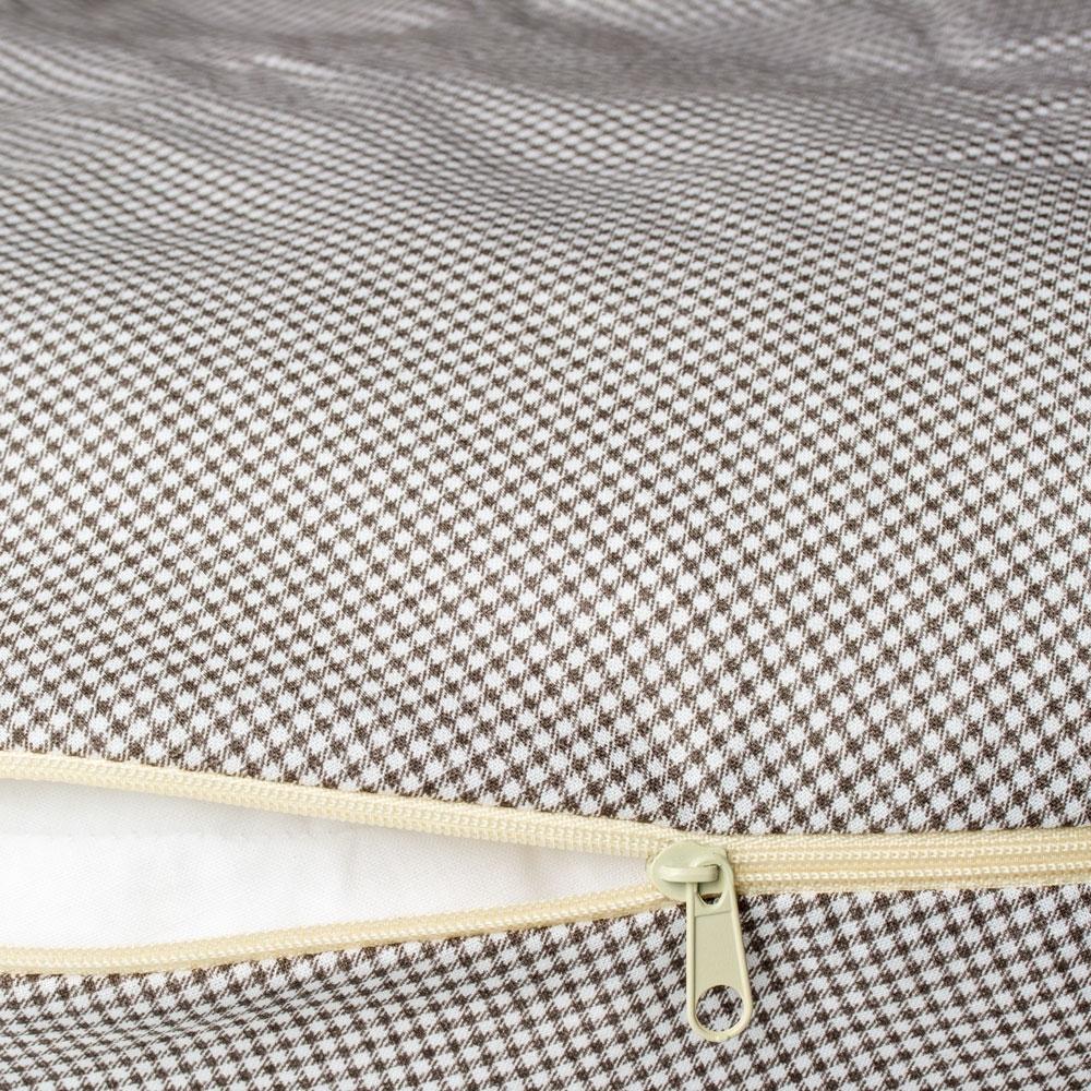 Perna Pentru Gravide Si Alaptat Comfort Grid 170 Cm Cu Poliester Womar An-pk-17gr