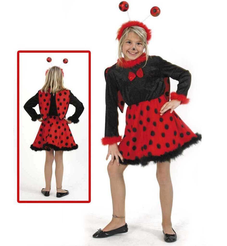 Costum Pentru Serbare Buburuza Cu Antene 98 Cm