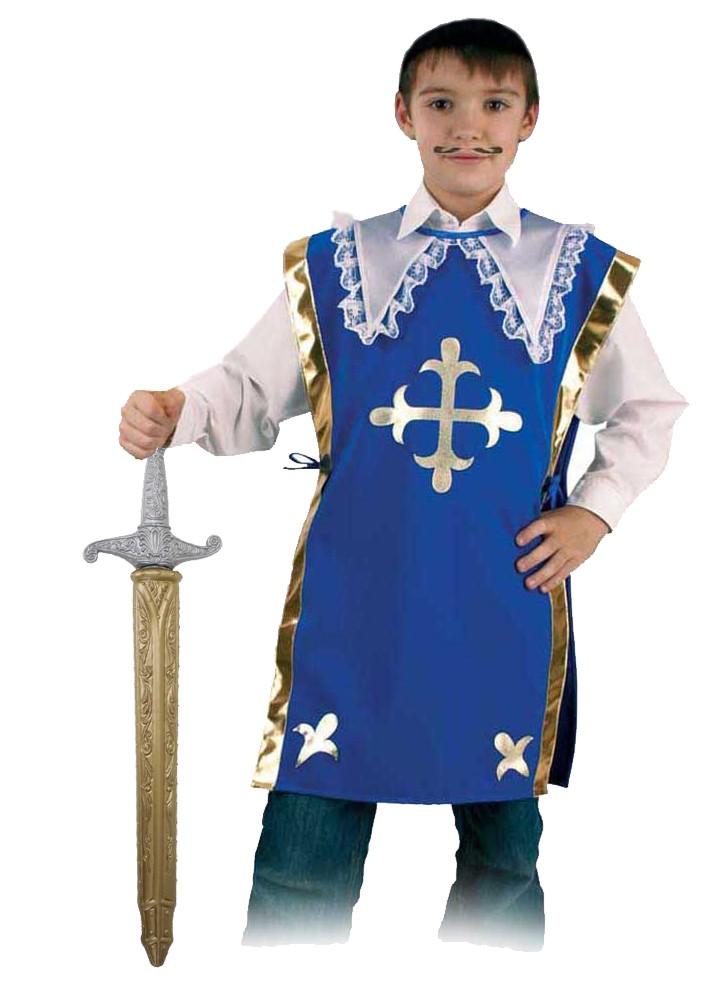 Costum Pentru Serbare Muschetarul Athos Cu Sabie 116 Cm