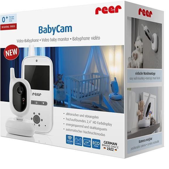 Video monitor digital pentru bebelusi Reer BabyCam 80420 imagine