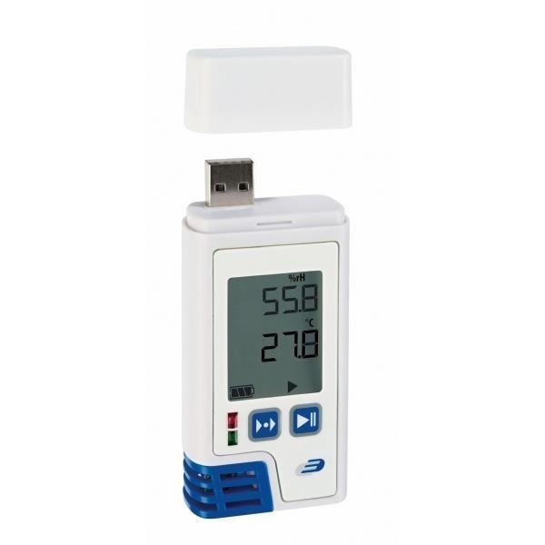 Data Logger profesional cu afisaj pentru temperatura si umiditate LOG210 PDF imagine