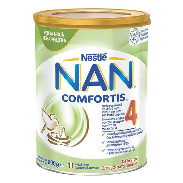 Lapte pentru copii de varsta mica Nestlé NAN COMFORTIS 4, de la 2 ani, 800g imagine