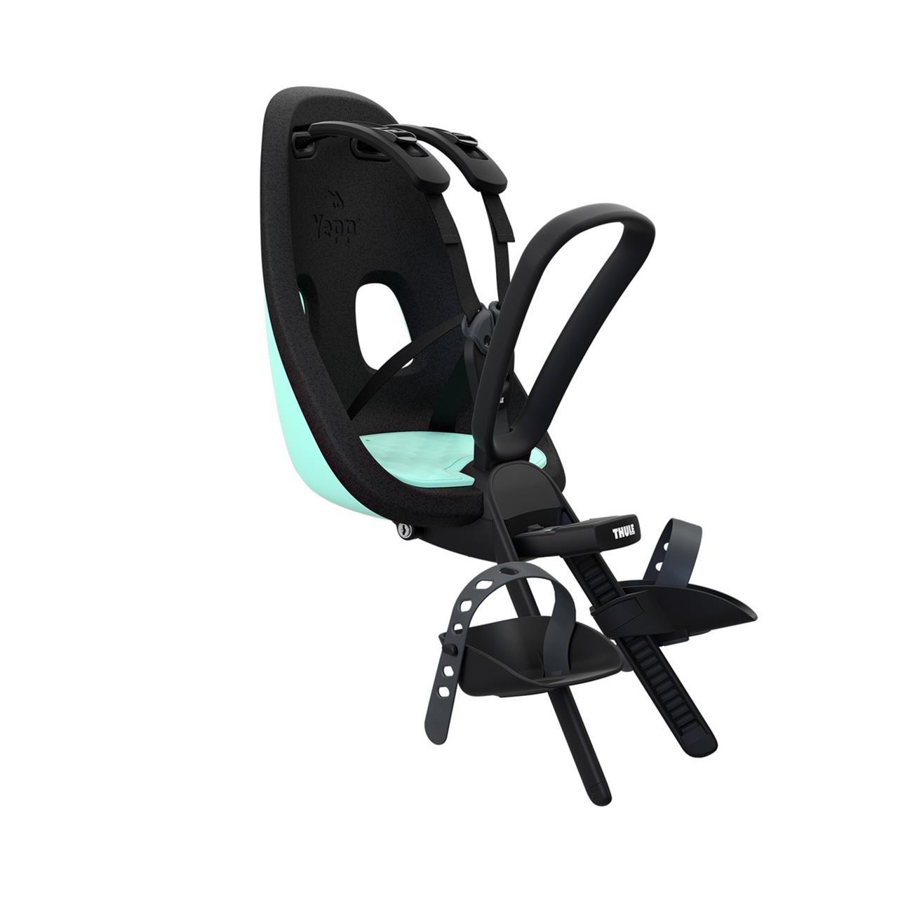 Scaun pentru copii, cu montare pe bicicleta in fata - Thule Yepp Nexxt Mini MINT GREEN imagine