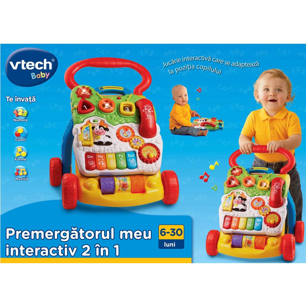 Jucarie interactiva Vtech, Premergatorul Meu Interactiv 2 in 1