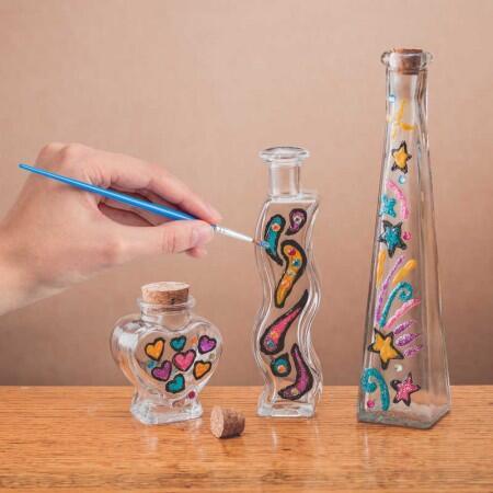 Set artistic - Pictura pe sticla
