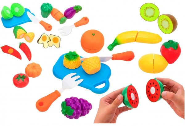 Set alimente diverse fructe si legume Globo cu velcro