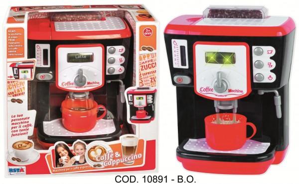 Espressor cafea RS Toys functional cu apa cu accesorii