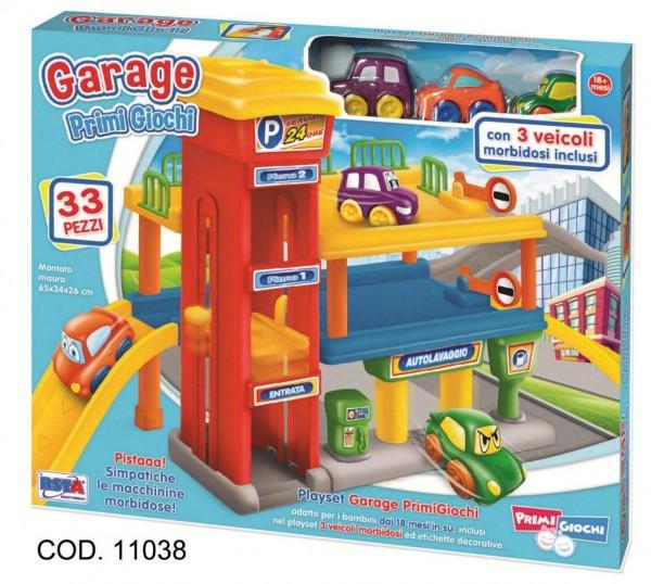 Garaj cu doua etaje si 3 vehicule incluse RS Toys