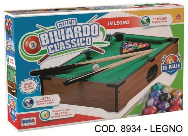Masa biliard RS Toys pentru copii 50 cm din lemn imagine