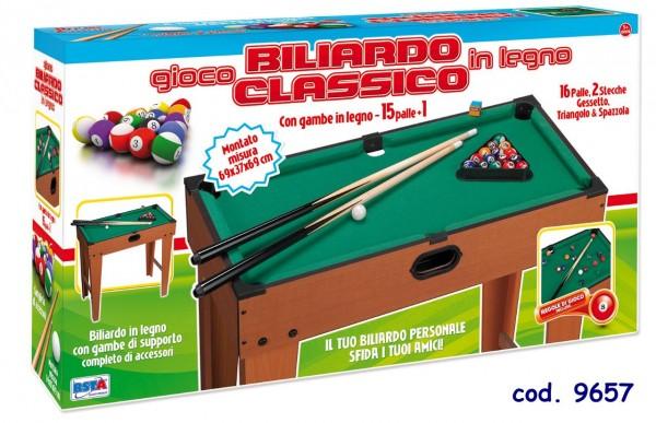 Masa biliard RS Toys pentru copii 69 cm din lemn xu picioare imagine