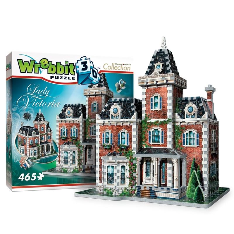 Puzzle 3D Vila Victoriana