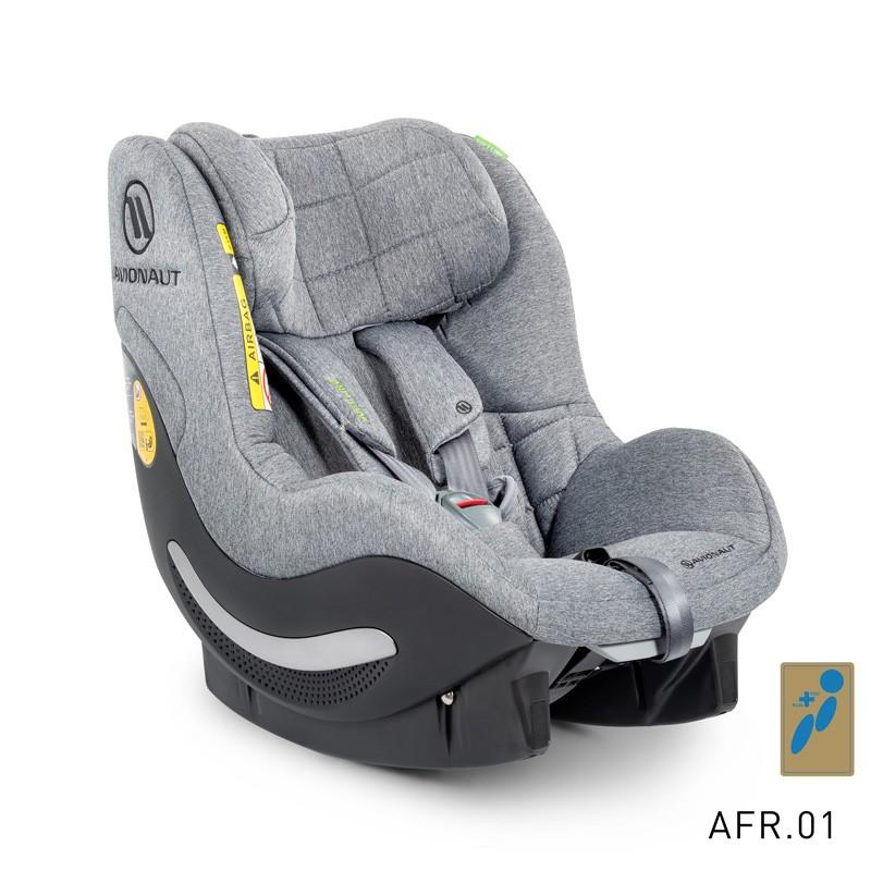 Avionaut AeroFIX RWF SOFT LINE scaun auto 0-18kg iSize - AF.01 Gray-Melange imagine