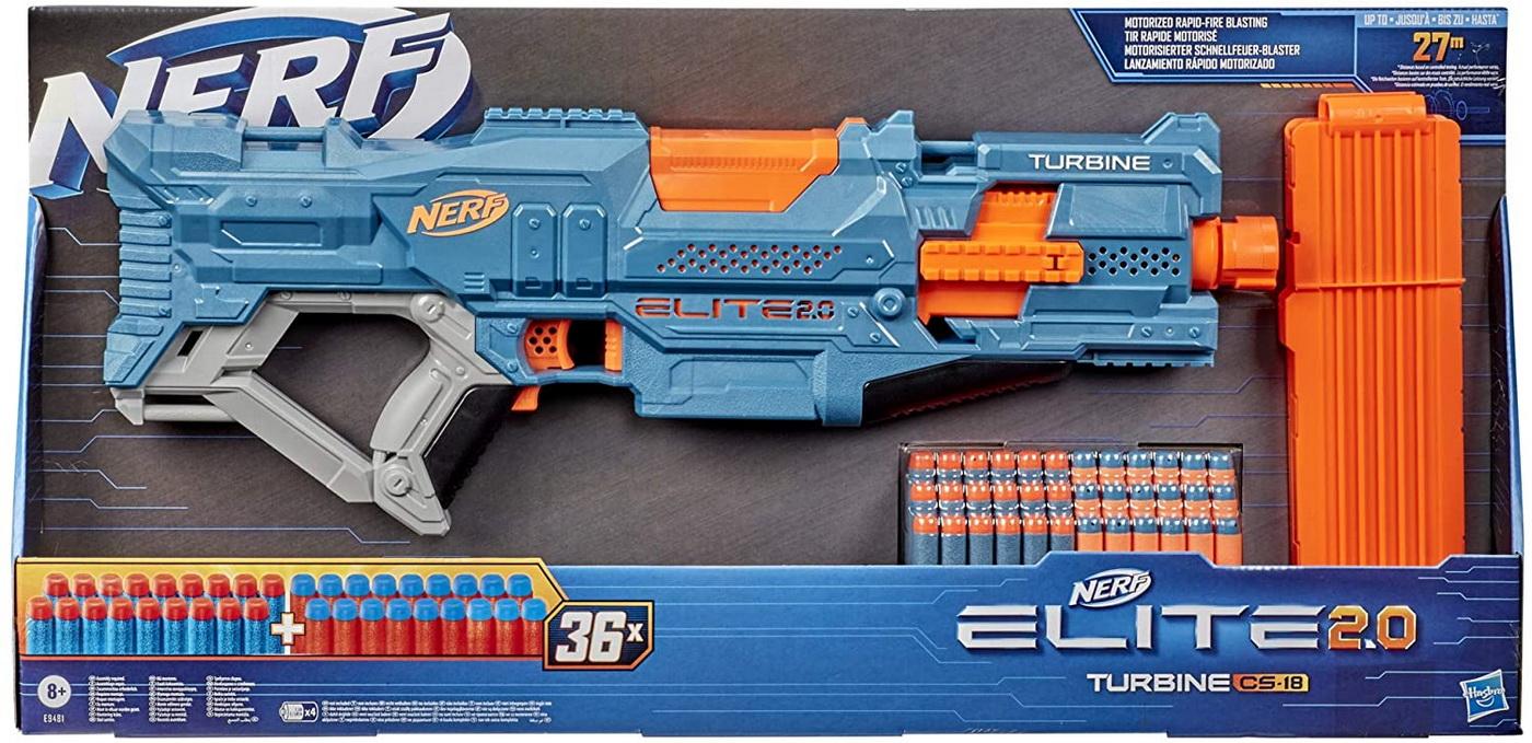 Nerf blaster elite 2.0 turbine cs-18 imagine