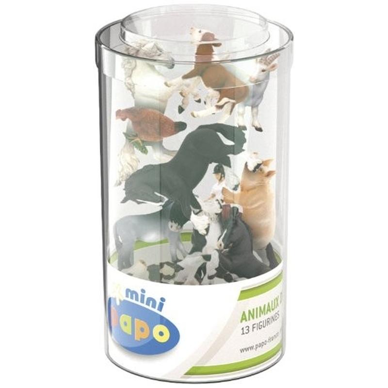 Set 13 Minifigurine Animale Ferma