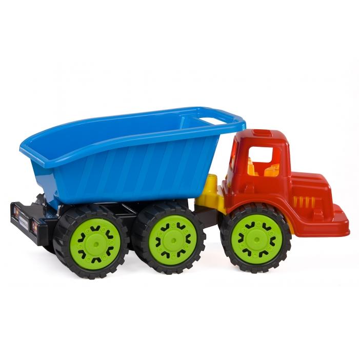Camion pentru copii marmat s, cabina rosie