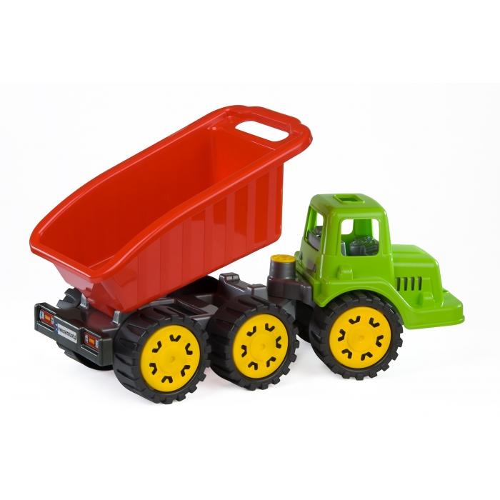 Camion pentru copii marmat s, cabina verde